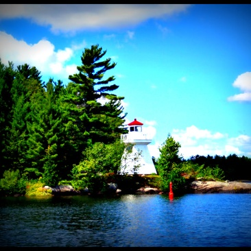 Lighthouse, Lake Muskoka