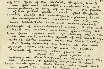 Writers: Dylan Thomas Notebookfound