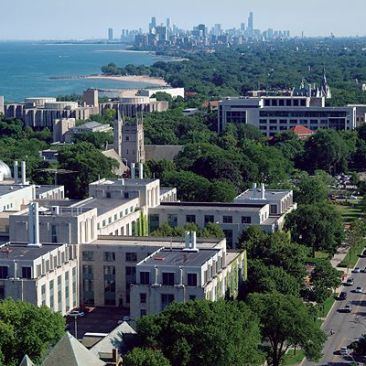 Evanston, Illinois - Lake Michigan / Chicago in the distance