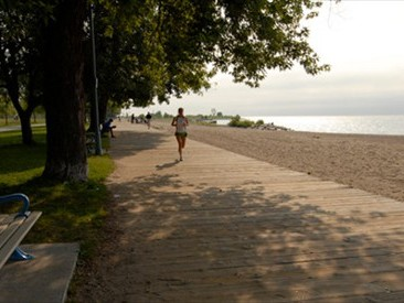The Boardwalk, The Beach neighborhood, Toronto - Lake Ontario
