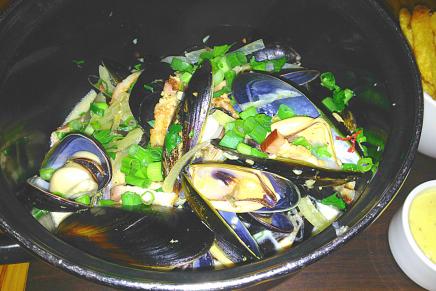 Gratitude: Mussels